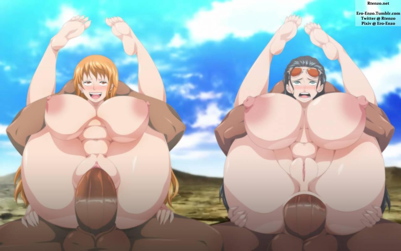 Boobs nami big One Piece